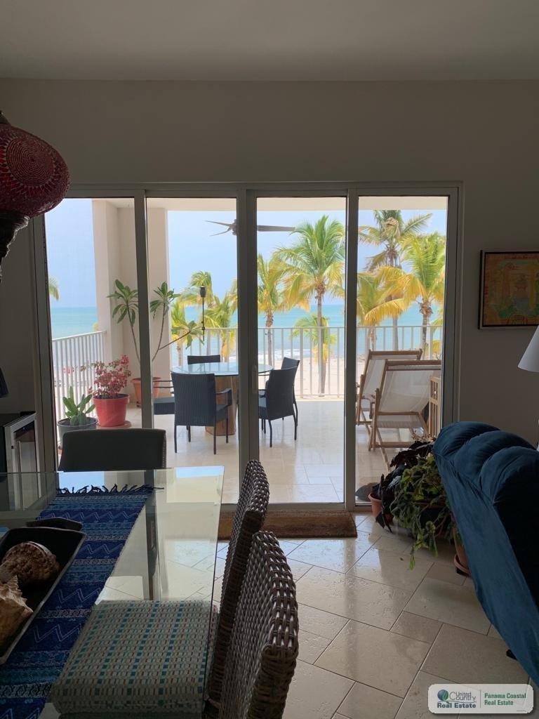 BEACH FRONT APARTMENT FOR SALE IN BUENAVENTURA PANAMA