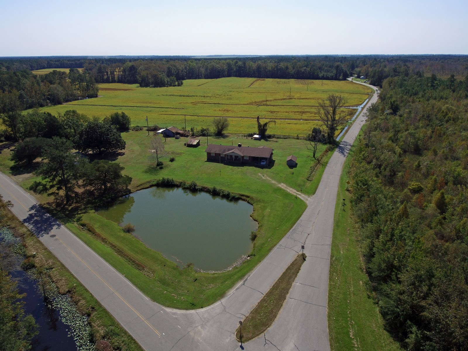 WASHINGTON COUNTY, NC COUNTRY HOME FOR SALE WITH ACREAGE