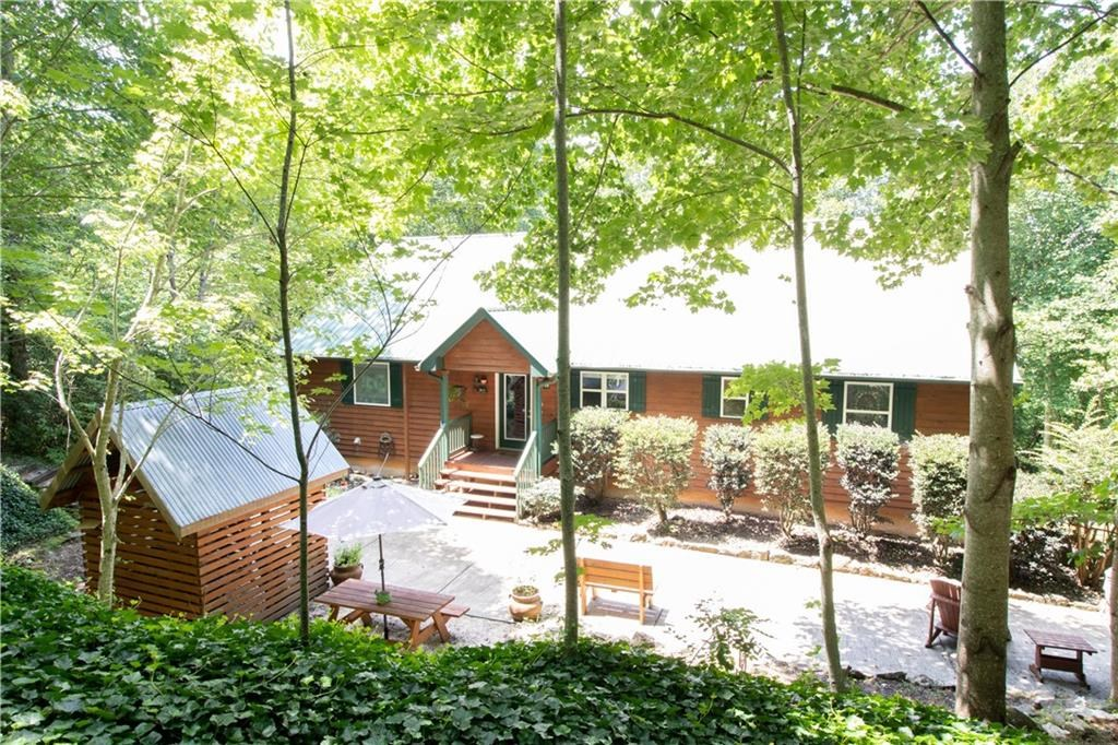 North Georgia Mountain Cabin for Sale in Ellijay