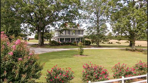 Historic Home for Sale with Acreage in Anderson SC!