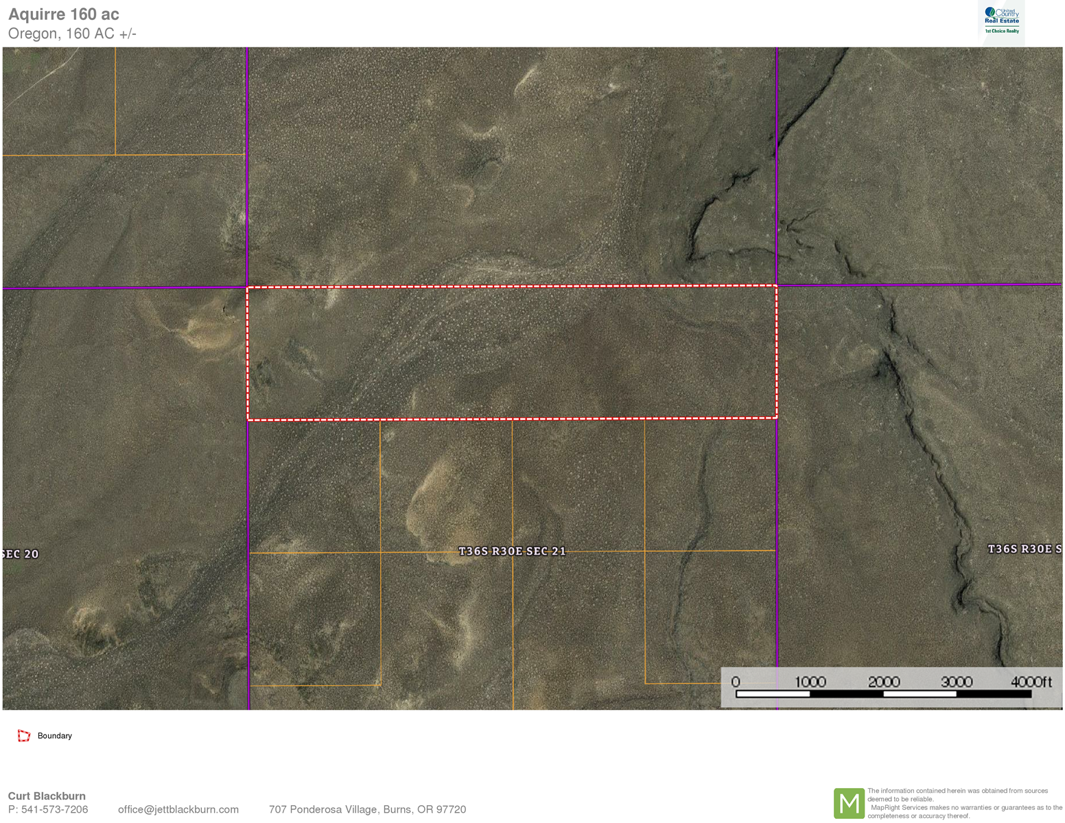 160 ACRES IN CATLOW VALLEY - SOUTH EASTERN OREGON