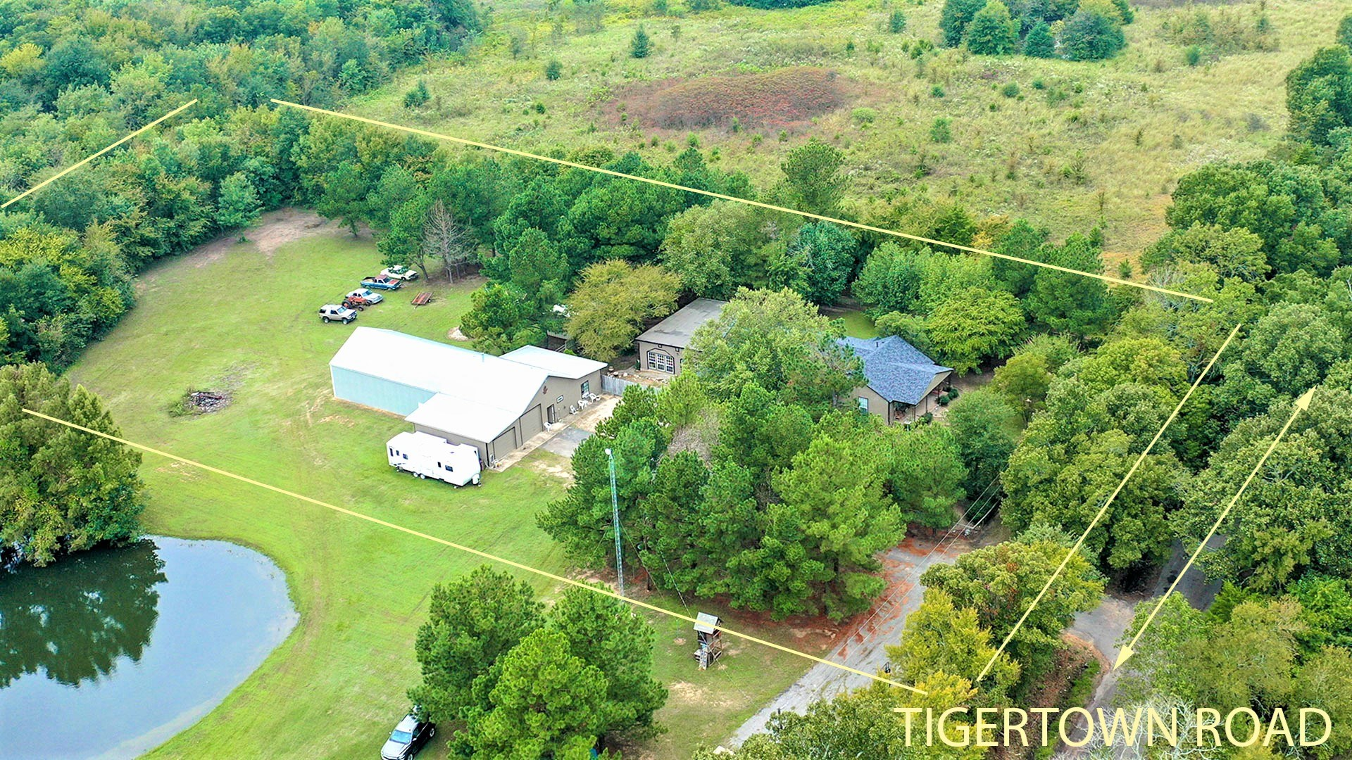 Country Home On Acreage For Sale Sumner Texas Lamar County