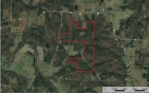 SECLUDED HUNTING LAND IN SOUTHERN ST. CLAIR COUNTY MISSOURI