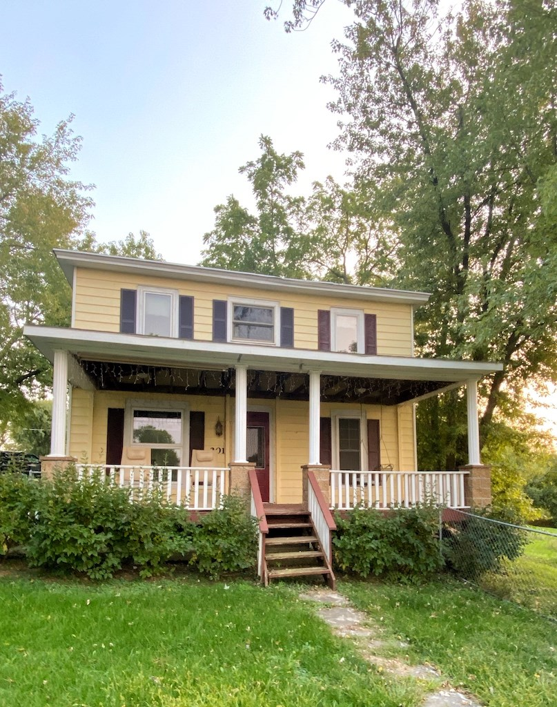 Historical Home For Sale in IA with Home Business Capability