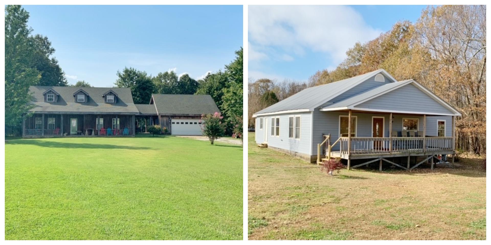 Jonesboro AR 2 Country Homes with Acreage For Sale