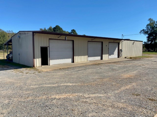 Commercial Property for sale Carthage Texas Auto Shop