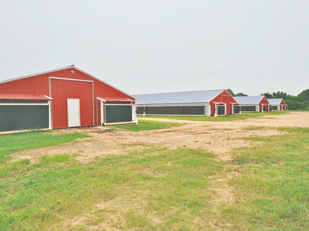 7 House Broiler Poultry Farm, 70 Acres, Home for Sale SW MS