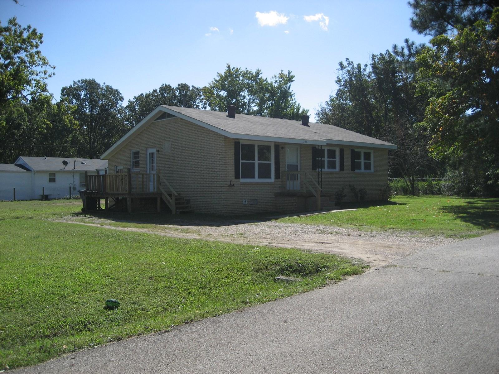 3 BEDROOM HOME FOR SALE IN ADAMSVILLE, TN NEAR PARK & SCHOOL