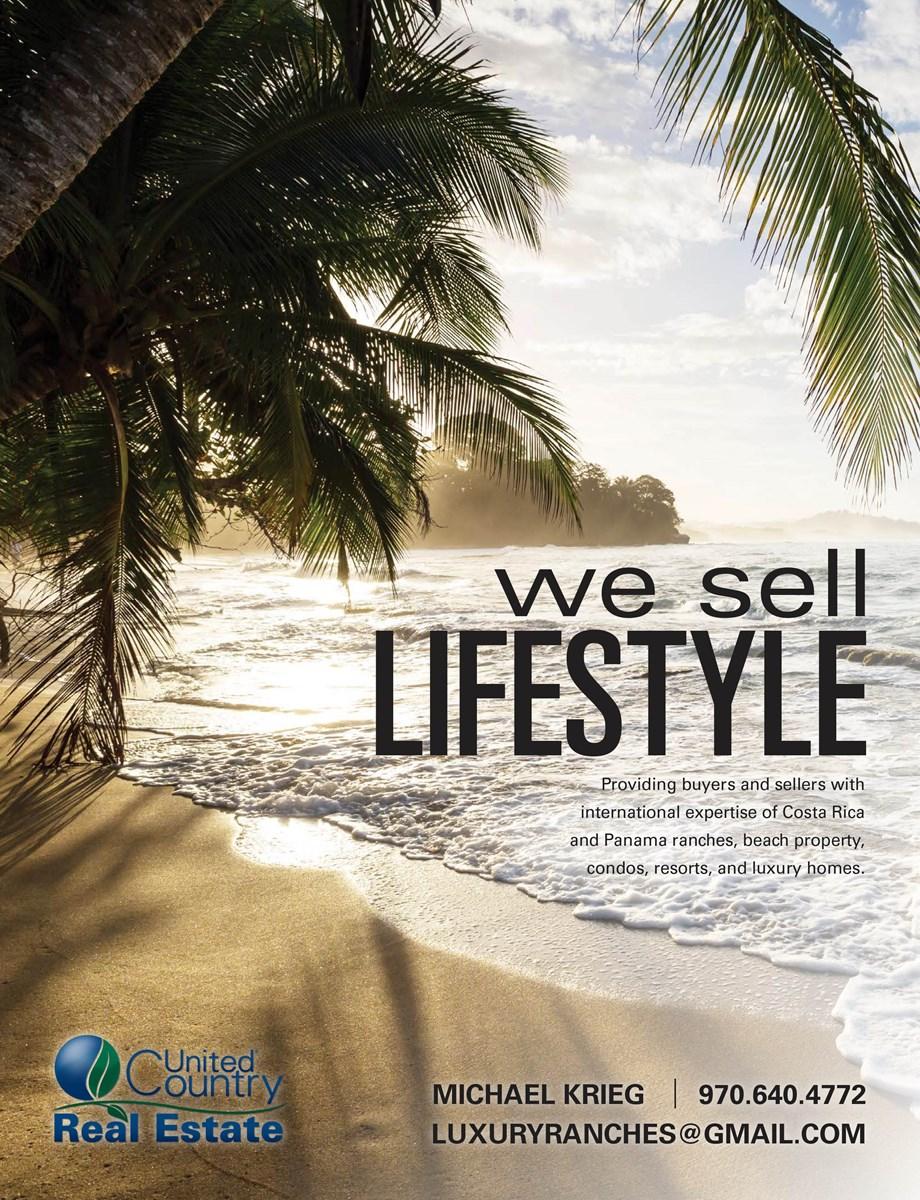 Costa Rica Beachfront Resort development land Michael Krieg