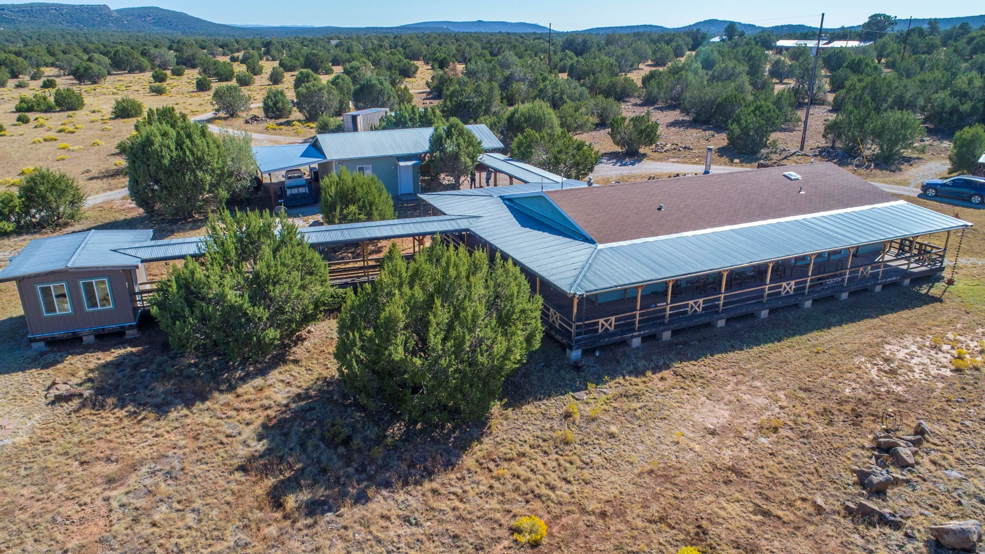 Fully Fenced 35 Acres with Home For Sale, On Grid Power