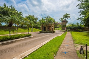 LARGE, GATED OCEAN VIEW LOT WITH PLANS!!