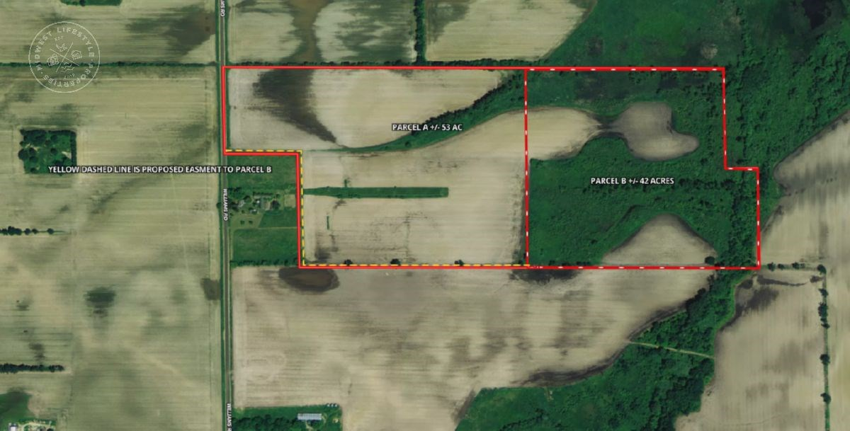 42 Acres hunting/recreational land, Columbia County WI