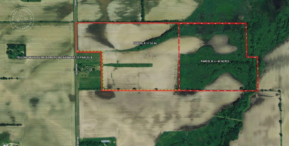53 Acres recreational/tillable soil rich dirt in Columbia Co