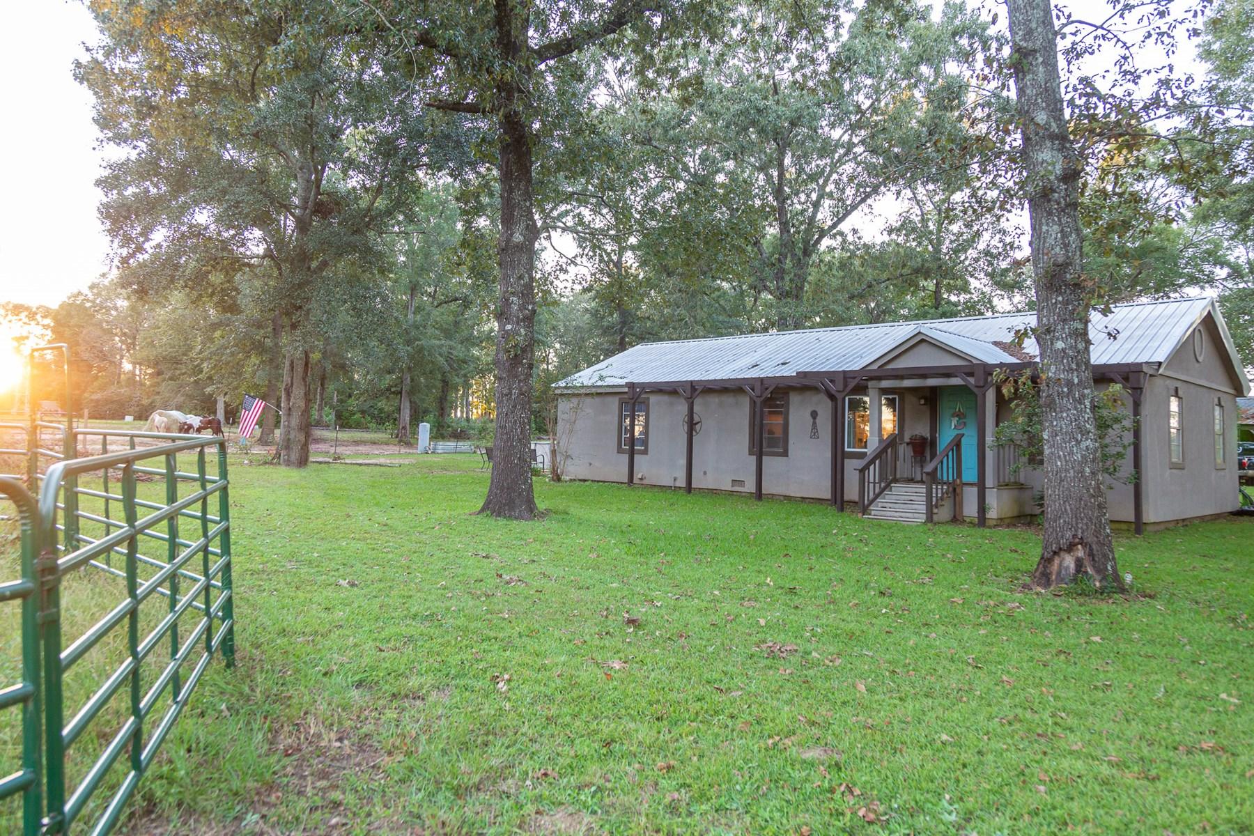 Home for sale with land Hartford, Alabama