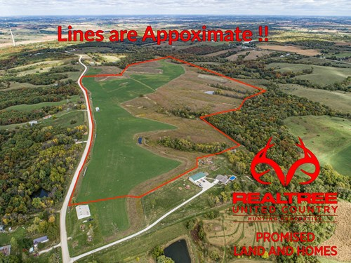 140 Acre Clarke County IA Investment/Income Producing Farm
