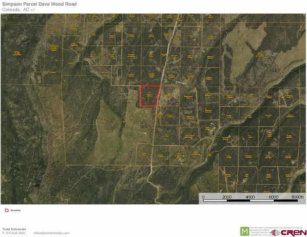 Land For Sale, Dave Wood Road, Montrose, Colorado