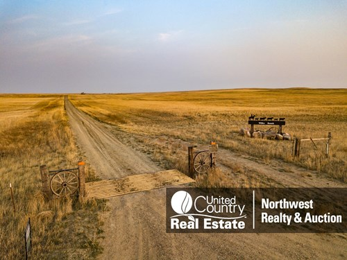 Montana Ranch Grazing Land in Phillips County For Sale