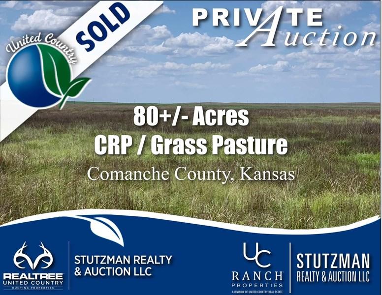 stutzman comanche county ks land sale sold auction