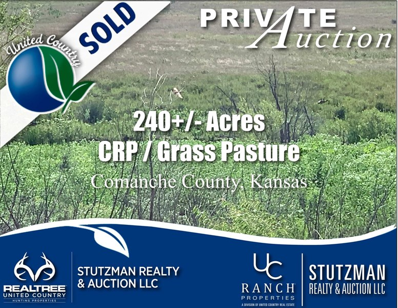 stutzman land sale comanche county sold ks