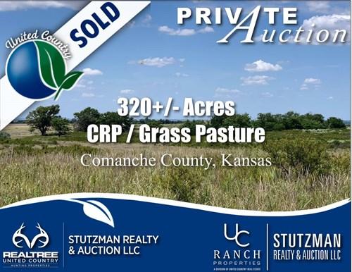 COMANCHE COUNTY, KANSAS ~ 320+/- ACRE ~ PRIVATE AUCTION