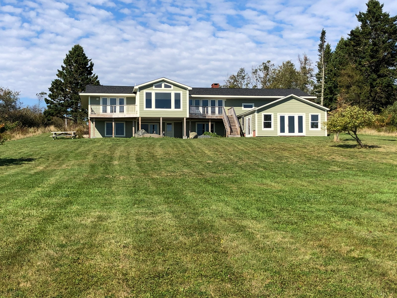 Oceanfront Home For Sale in Downeast Maine