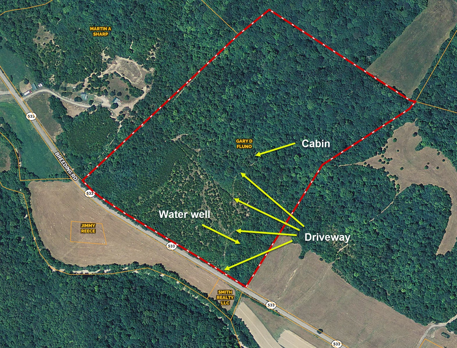 Great Hunting Property, Road Frontage,  Edmonton Kentucky