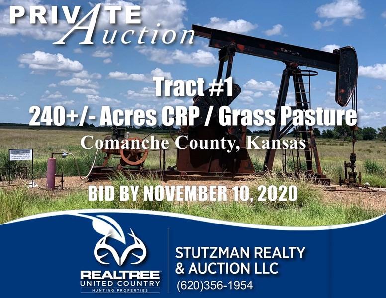 stutzman ks oil gas sale  auction land