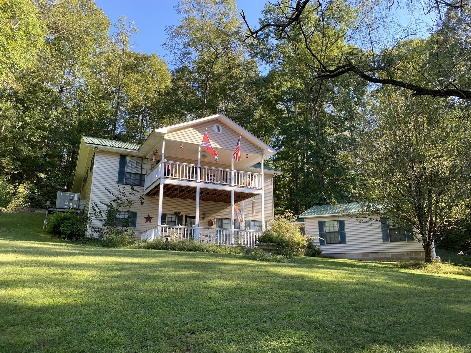 COUNTRY HOME FOR SALE IN TN, SPRINGS, GARDEN SPOT, WORKSHOP