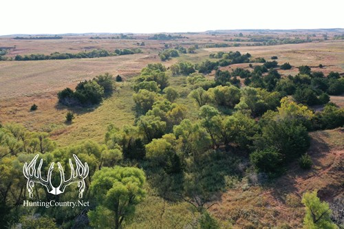 160 acres m/l. Woods County Oklahoma Hunting & Farming Land