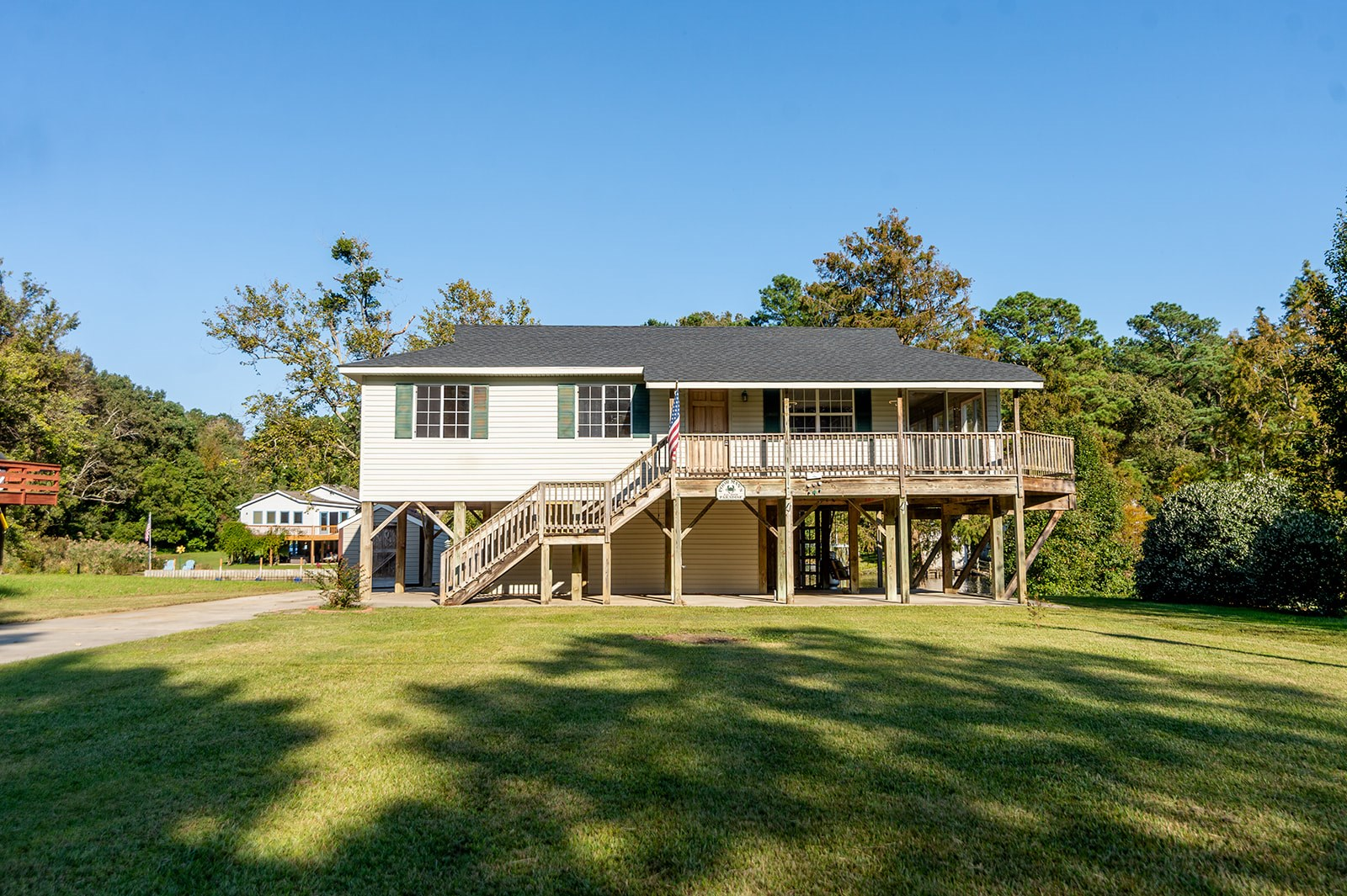 HERTFORD, NC WATERFRONT HOME FOR SALE