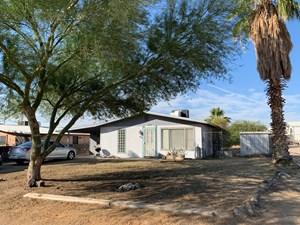 THREE BEDROOM HOME ON CORNER LOT IN PARKER, AZ