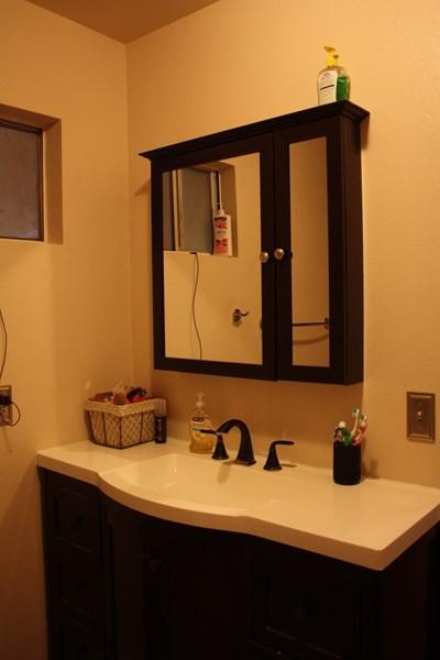 Updated vanity in master bath
