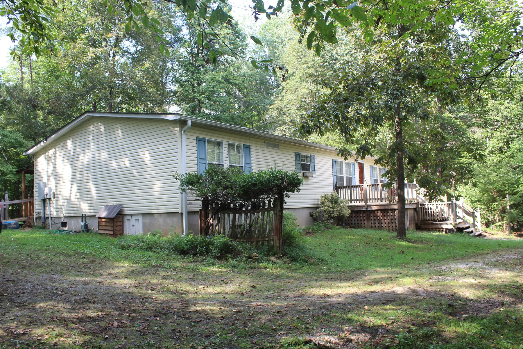 PRIVACY ABOUNDS WITH THIS PROPERTY IN  STOKES COUNTY, NC