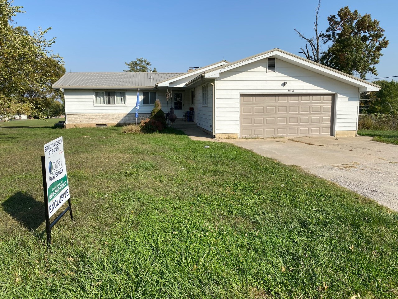 3 Bed, 3 Bath Home Plus Shop For Sale Utica, MO