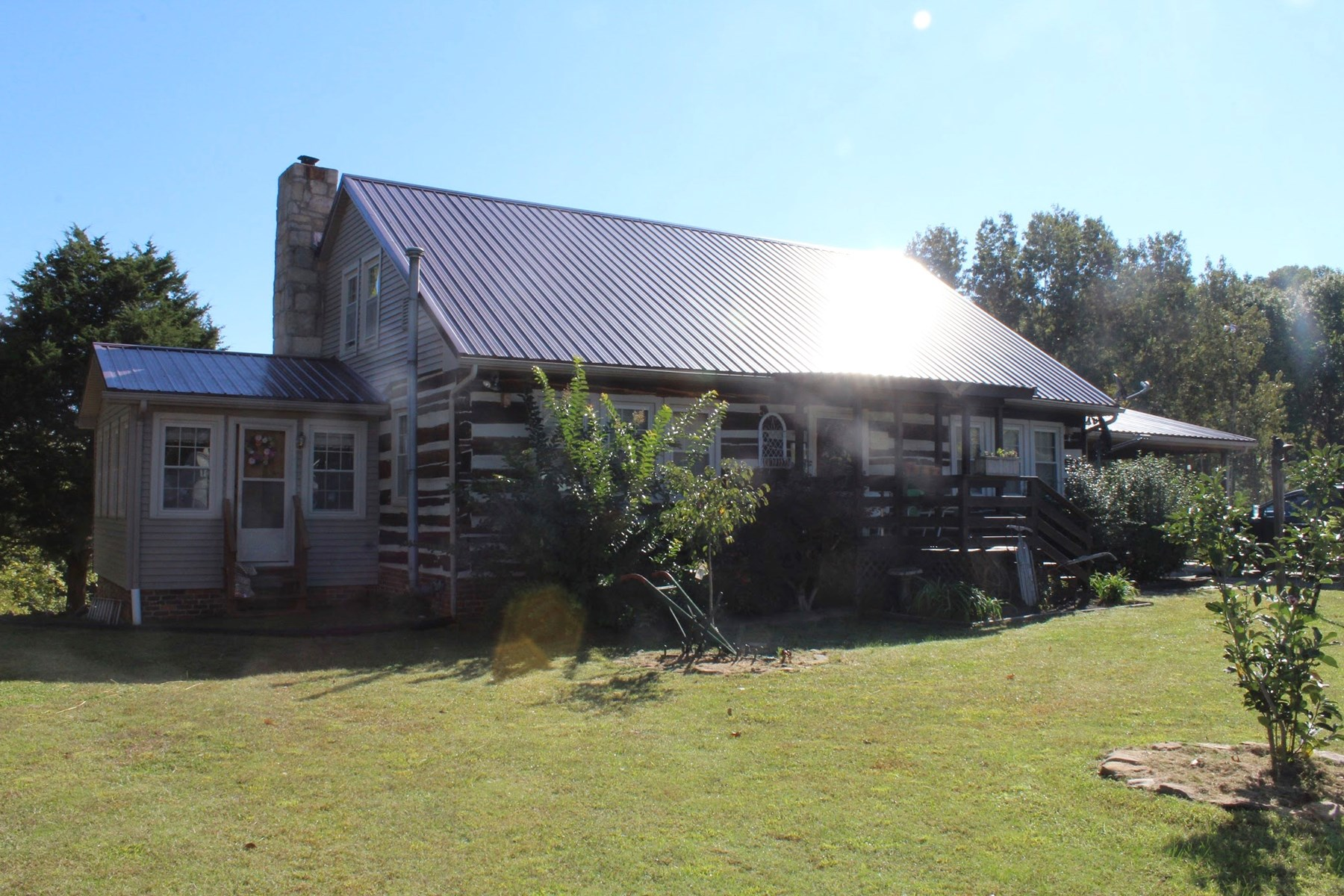 Log Home on 29.91acres for sale near Bowling Green Ky.