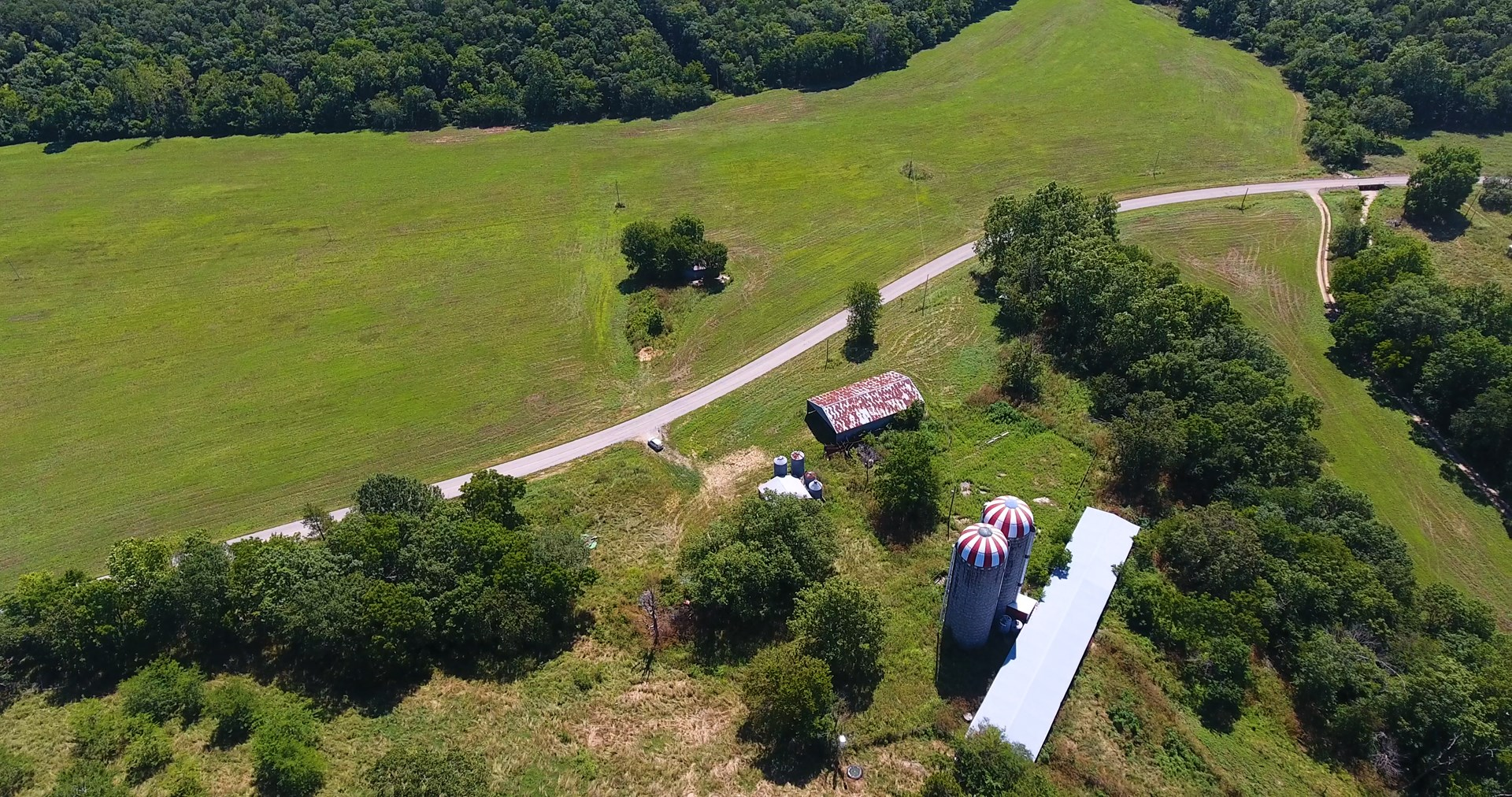 Ranch Land with Facilities in Southern Missouri Ozarks