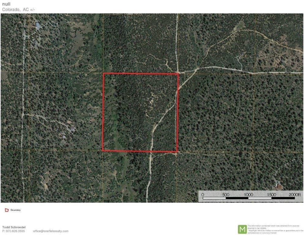 40 Acre Parcel, Log Hill, Montrose, Colorado For Sale