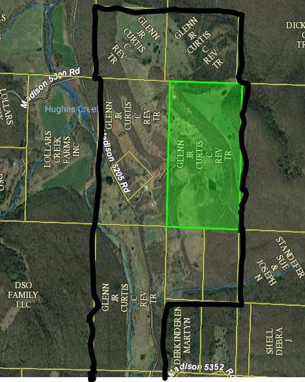10 Acre farm  for sale, Huntsville, Arkansas
