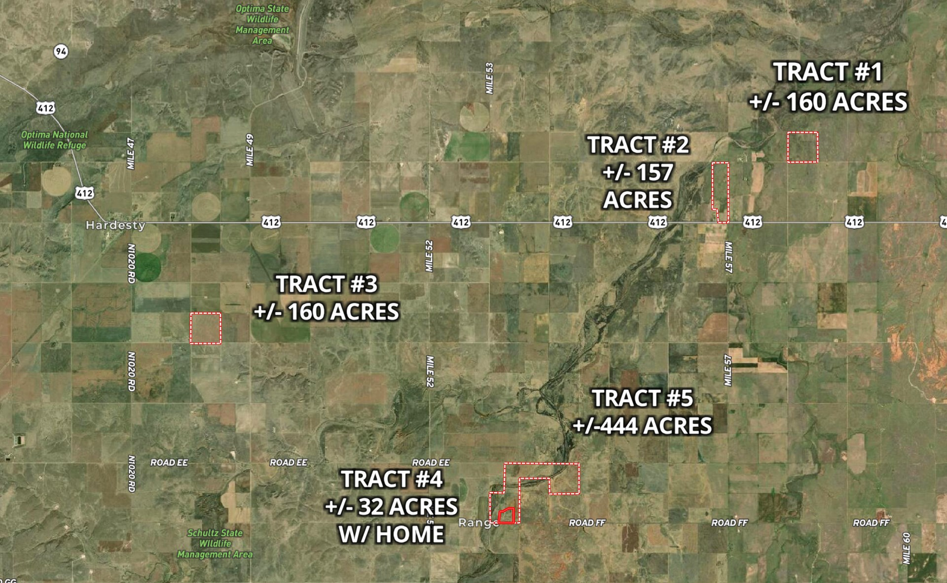Texas County Farm, Ranch & Hunting Land for Sale