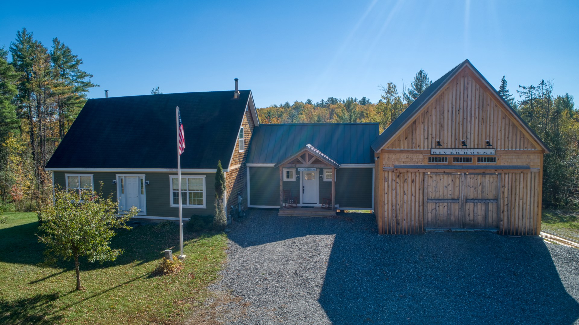 Maine Riverfront Home For Sale
