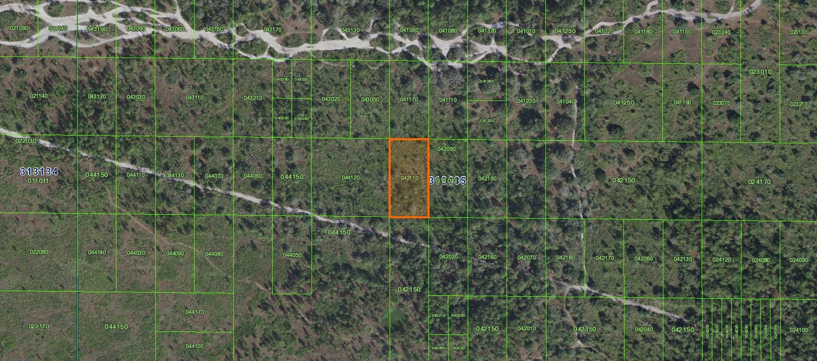 INACCESSIBILE TRACT, RIVER RANCH HUNTING GROUNDS, 1.27 ACRES
