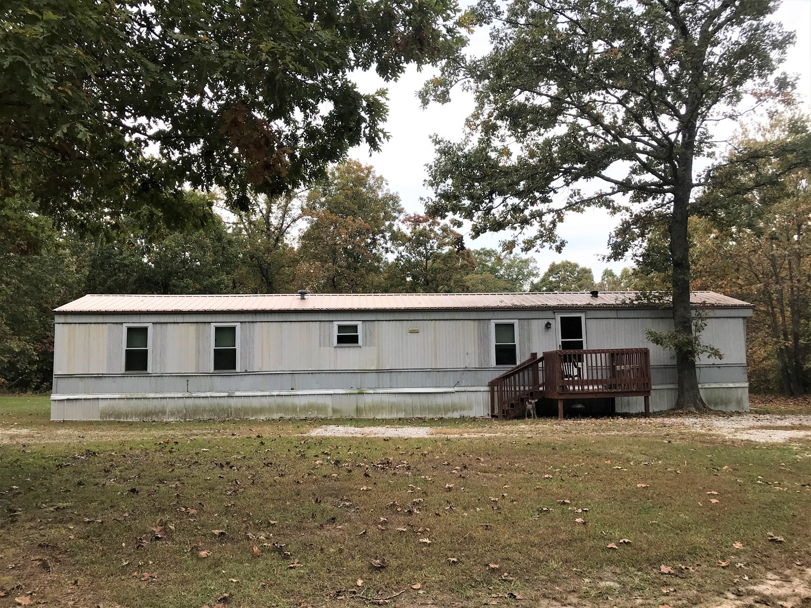 2 bedroom Clayton home on edge of town with 5 acres