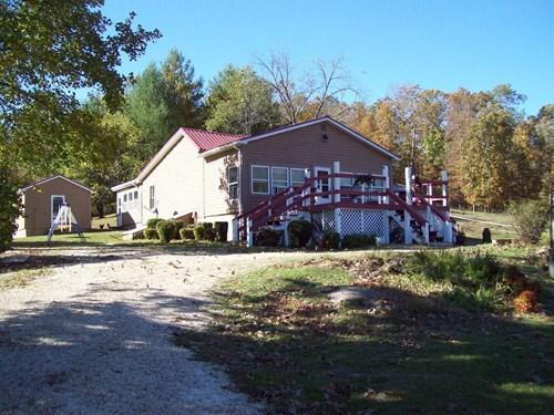 Home & 150+/-Acre Farm near Piedmont Missouri