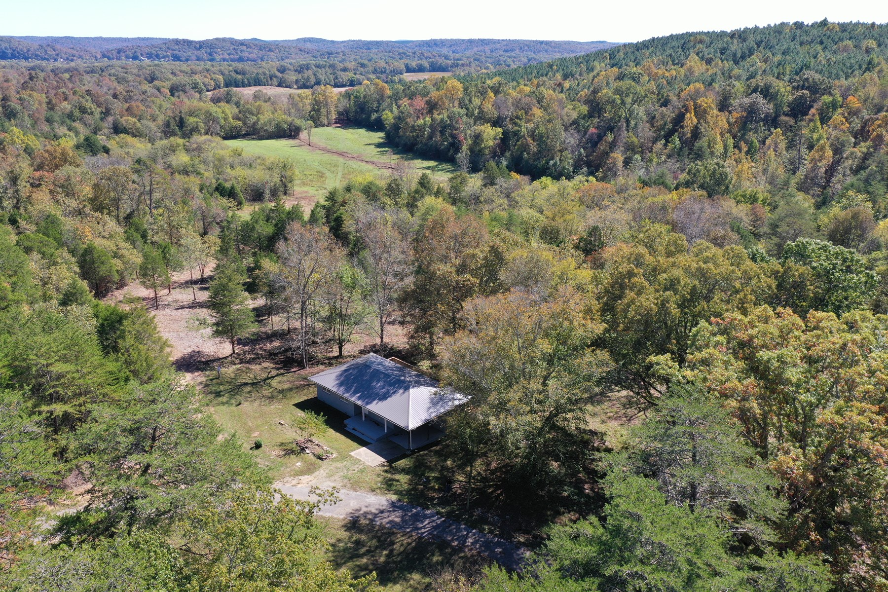 Tennessee Abandoned Mini Farm for sale with owner financing.