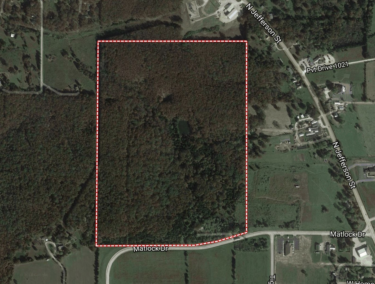 LARGE ACREAGE AT EDGE OF CITY LIMITS IN ST. JAMES, MO