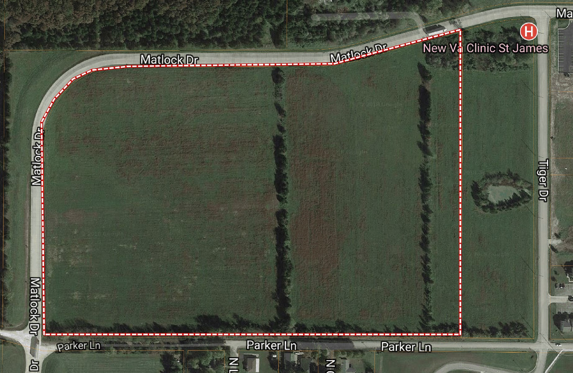 LEVEL OPEN ACREAGE BORDERING ST JAMES, MO CITY LIMITS