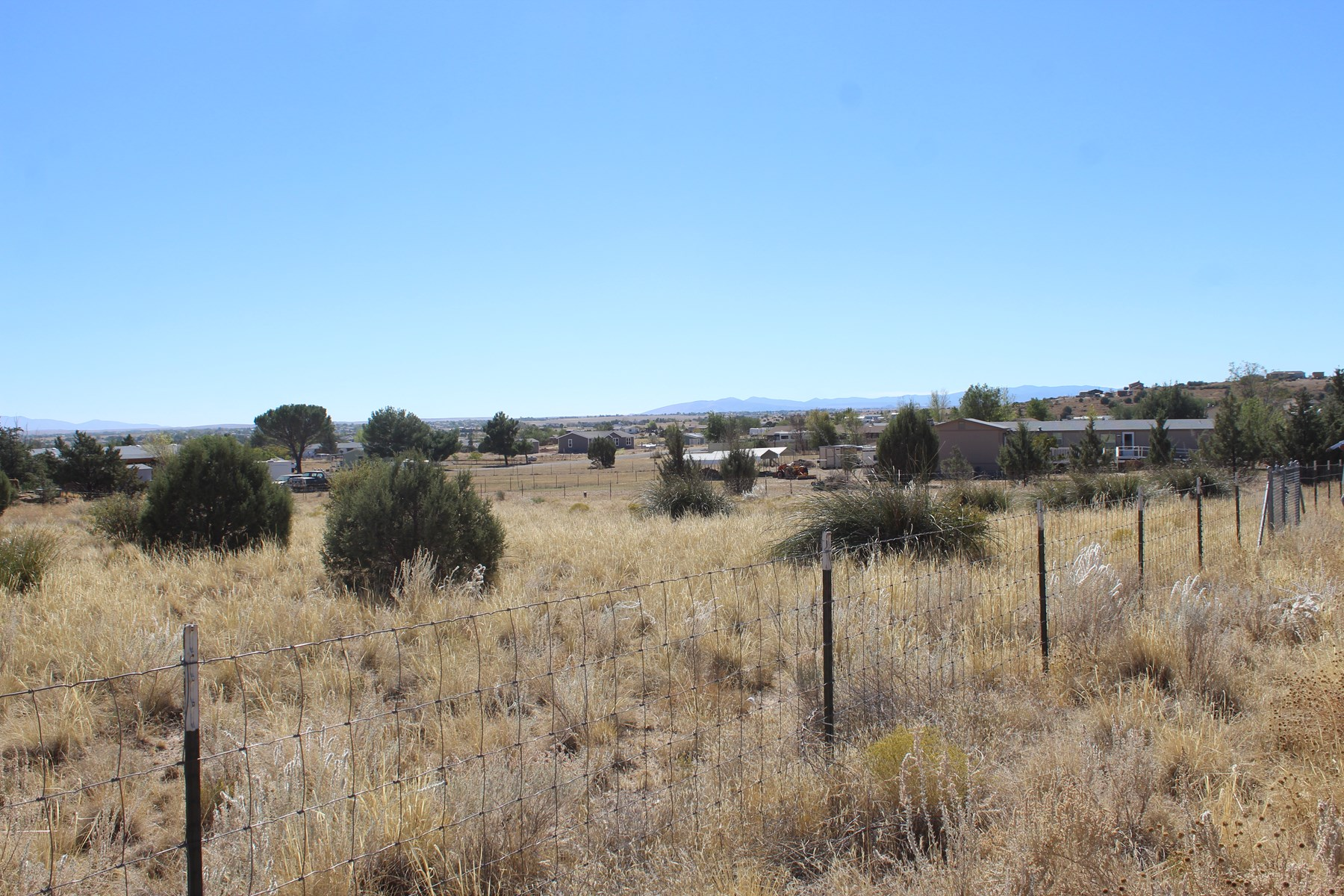 Land with Septic, Well, and Fenced for Sale Chino Valley AZ