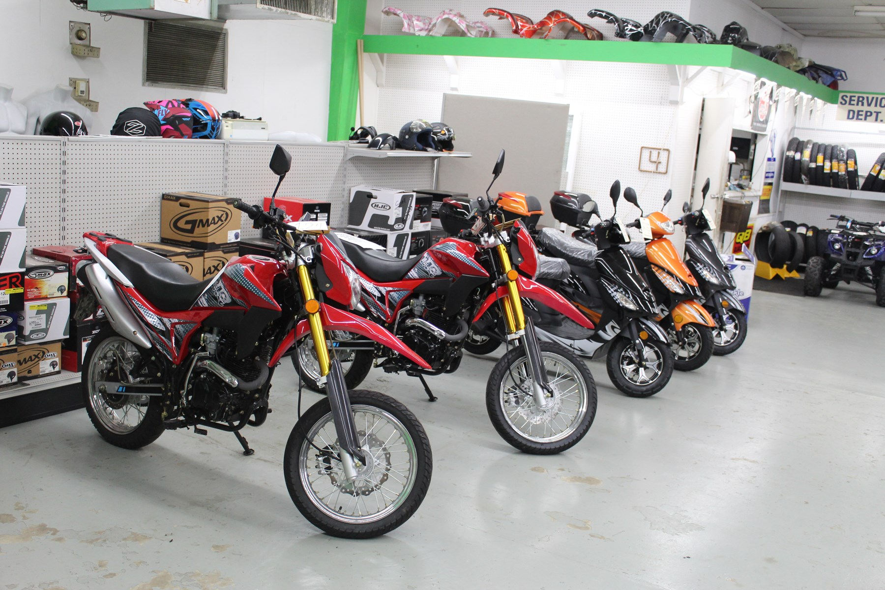 Online Liquidation Auction of Star Motorbike & ATV