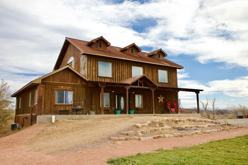 Colorado Custom Country Home with Pond and Acreage for Sale