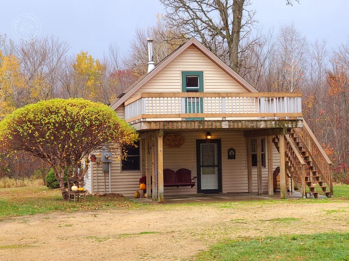 Cozy home on 50 acres